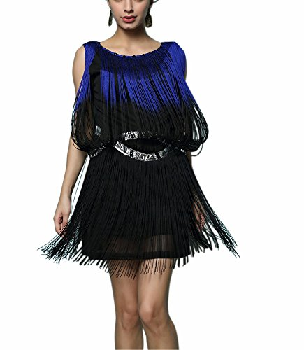[Cute Reproduction Art Deco Speakeasy Theme Event Flapper Dress Hollywood Costume] (Hollywood Themed Costumes Women)