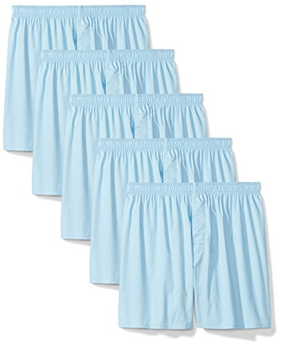 Blue Mens Boxers - Amazon Essentials Men's 5-Pack Tag-Free Boxers, Blue, Small