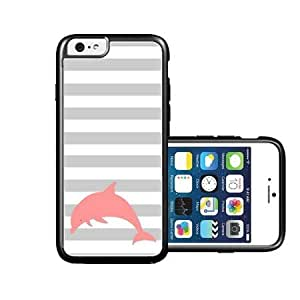 RCGrafix Brand Dolphin Face Pool Dolphins iPhone 6 Case - Fits NEW Apple iPhone 6