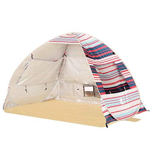NILINLEI Outdoor Tent- Pop Up Beach Tent – Easy Setup, Portable 2-3 Person Tall Beach Shade Folding Sun Shelter…