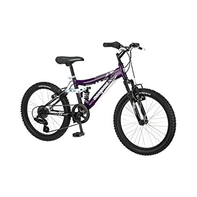 "20"" Mongoose Girls' Ledge 2.1 Purple Mountain Bike"