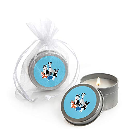 Pawty Like a Puppy - Candle Tin Dog