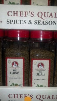 Chef's Quality: Whole Caraway Seeds 12/16 Oz Case by Chef's Quality