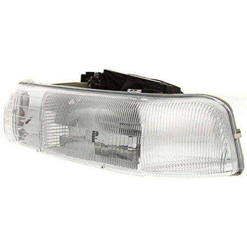 Diften 114-A4727-X01 - Chevy Tahoe Suburban Silverado Truck Headlight Headlamp Driver Side Left LH ()