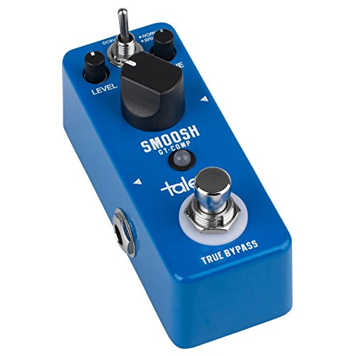 Talent GT-COMP SMOOSH Compressor Guitar Mini FX Pedal Stomp Box by Talent