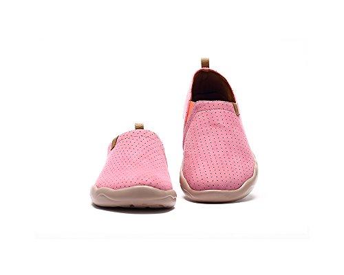 Uin Décontractée Toledo Mode Microfibre De Chaussure Rose Des Femmes HE4rRqHn