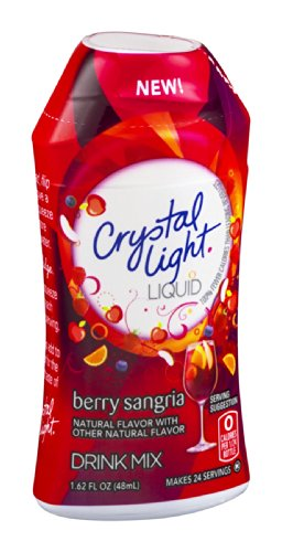 Crystal Light Liquid Drink Mix Berry Sangria 1.62 FZ (Pack of 24) by Crystal Light