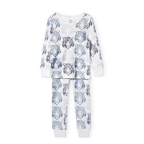 aden + anais Pajama Set; 2 Piece; 100% Cotton Sleepwear; Tiger; Size 12M