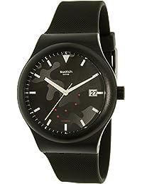 Swatch Men's Sistem51 SUTA401 Black Silicone Swiss Automatic Watch