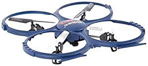 UDI RC Discovery 2.4GHz 4 CH 6 Axis Gyro RC Quadcopter with HD Camera RTF by UDI RC