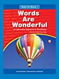 img - for Words are Wonderful Book 1 Tests - Grade 3 book / textbook / text book