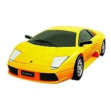 Lamborghini Murcielago - Yellow 3D Jigsaw Puzzle Car Kit