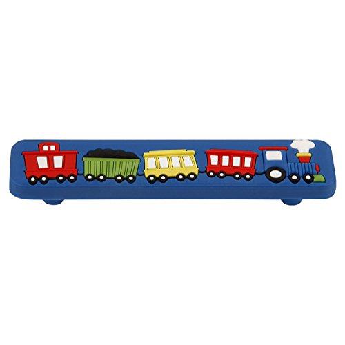 4647-ZZ Kids Corner Collection 96mm Center to Center Train Pull, Multicolored (Pull Multi Colored)