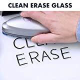 "Quartet Glass Whiteboard Desktop Easel, 9"" x"