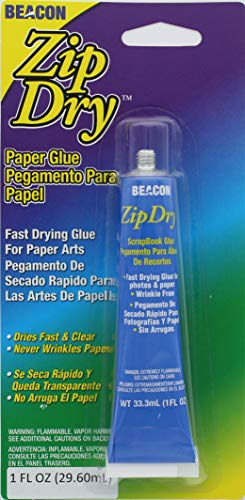 BEACON Glue & Adhesive Zip Dry Paper Precision Tip 1oz, 1 oz]()