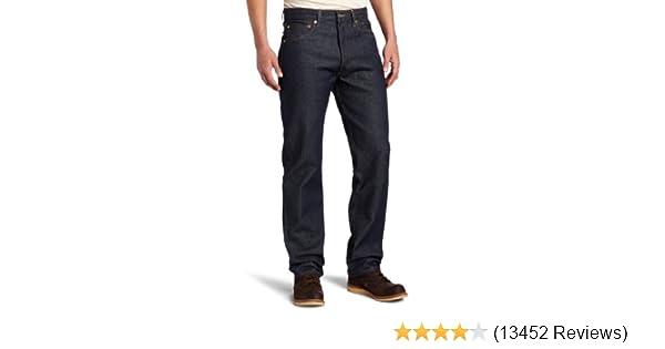 Levis Mens 501 Original Fit Jean