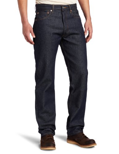 Levi's Men's 501 Original Shrink-to-Fit Jeans, Rigid STF, 34WX34L ()