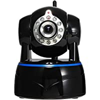 Aisino HD 1080P WiFi Wireless IP Camera Remote Home Security Surveillance Camera Network Monitoring System for House Baby Monitor Nanny Cam with Phone App/Audio/Night Vision/Pan Tilt (1080P)