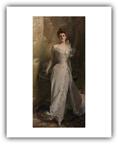 The Ibis Print Gallery - John Singer Sargent : ''Portrait of Lisa Colt Curtis'' (1898) - Giclee Fine Art Print