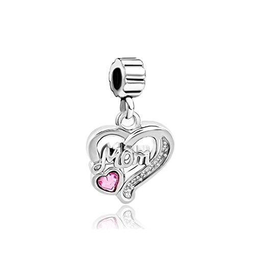 CharmStory Heart Birthstone Crsytal Bracelets
