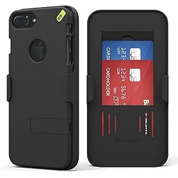 Apple Iphone  Plus S Plus Puregear Hip Clip Holster Snap On Shield Combo Black
