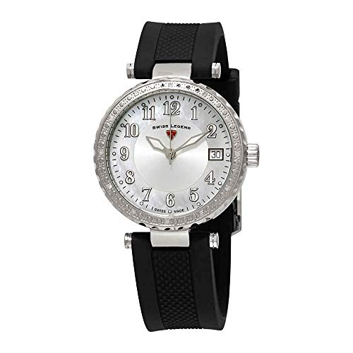 - Swiss Legend Women's 16002SM-02 Sea Breeze Analog Display Swiss Quartz Black Watch