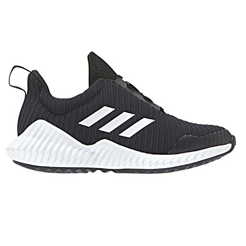 buy online ffa8e d70e4 Galleon - Adidas Originals Unisex-Kids Fortarun Running Shoe,  Black White Black, 2 M US Little Kid