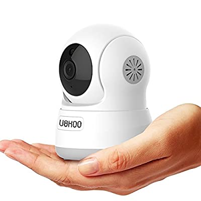 Wireless IP Camera, UOKOO 720P HD Home WiFi Wireless Security Surveillance Camera with Motion Detection Pan/Tilt, 2 Way Audio and Night Vision Baby Monitor, Nanny Cam from UOKOO