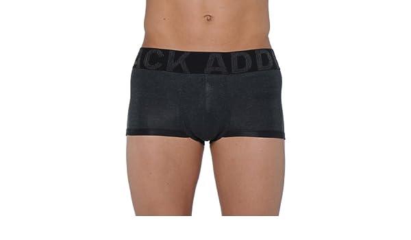 HOM Addict - Bóxer para hombre, color gris anthracite chine, talla fr:2 (eu:3) - xs: Amazon.es: Ropa y accesorios