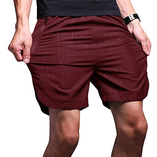 LTIFONE Mens Gym Quick Dry Short...