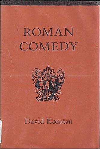 Descarga gratuita de libros electrónicos en línea en pdf.Roman Comedy by David Konstan DJVU
