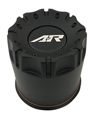 Black American Racing (American Racing Wheels 1515006016 Black Wheel Center Cap)