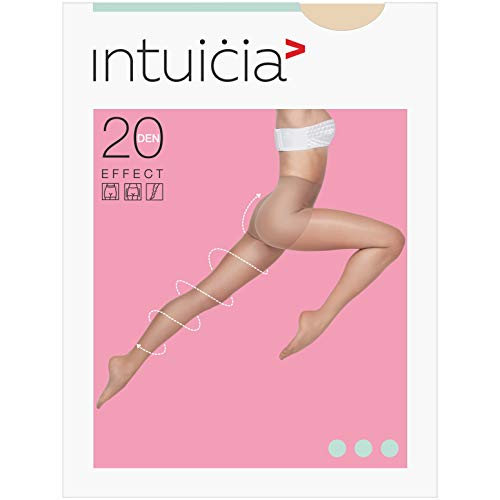(Compression Modeling Anti-Swell Tights 20 Den Semi Opaque Super Stretch Pantyhose (Vizone, 5))
