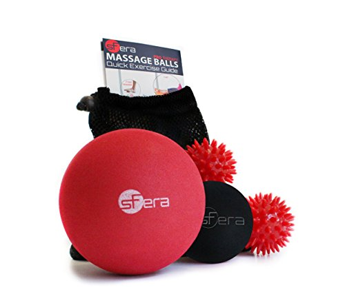 Therapy Massage Ball Set Best Massage Balls for Deep Tissue, Trigger Point and Myofascial Release