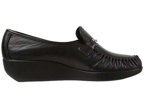 Airstep SAS Frauen Magical Moccasins Black