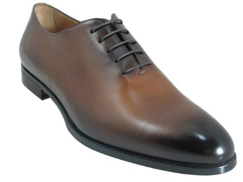 Doucals Para Hombre 41190 Italiana Encaje Hasta Zapatos Elegantes / Casuales Marrón