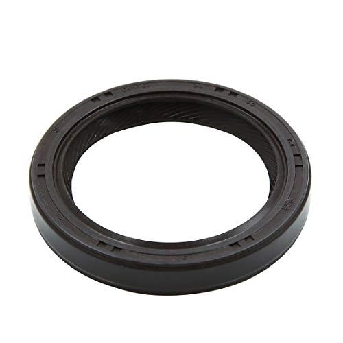X AUTOHAUX Black Oil Pump Front Crankshaft Seal for Honda Acura Civic Odyssey 91212-PR3-003