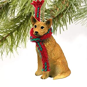Australian Cattle Dog Miniature Ornament - Red 27