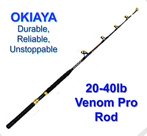 OKIAYA Carbon Fiber Venom PRO Series 20-40LB Tournament Penn Shimano