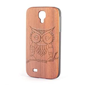 Froolu ? Owl Real Wood Galaxy S4 Case