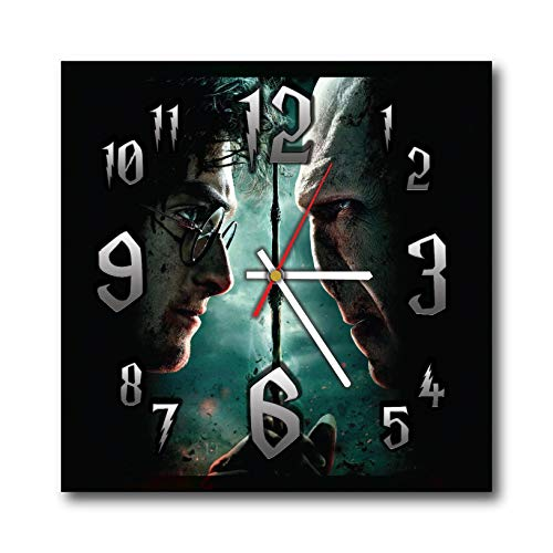 mV Harry Potter 11.4 Handmade Wall Clock – Get Unique d cor Home Office Best Gift Ideas Kids, Friends, Parents Your Soul Mates