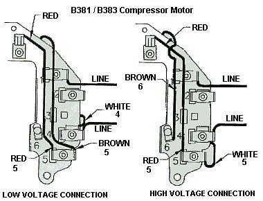 41NIQYmhSRL.01_SL500_ compressor motor 115 230v wiring diagram wiring diagram \u2022