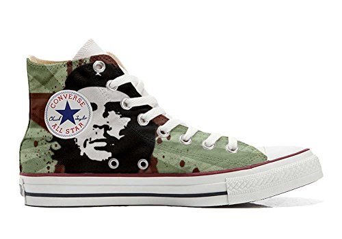 Converse All Star Customized - zapatos personalizados (Producto Artesano) Che Guevara