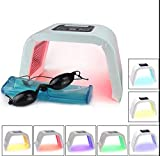 Zinnor 7 Colors Skin Care Machine LED Photon Light Therapy PDT Lamp Beauty