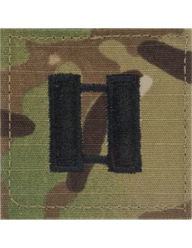 Multicam OCP Rank Insignia Fastener - Captain CPT (Patches Insignia Army)