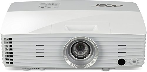 Acer P5627 3D DLP-Projektor (Full WUXGA, 4.000 ANSI Lumen, Kontrast 20.000:1, 1.920 x 1.200 Pixel, Acer Hidden Port Design (HDMI/MHL)) weiß