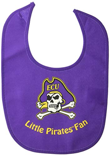 WinCraft NCAA East Carolina University WCRA2189514 All Pro Baby Bib
