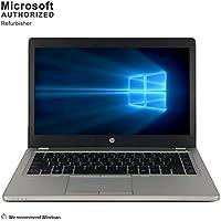 2018 HP EliteBook Folio 9470M 14 UltrabookLaptop Computer(Intel Core i7-3667U 2.0G, 8GB RAM DDR3, 240G SSD,DVD, VGA, DisplayPort, USB 3.0, Wifi,Windows 10 Professional 64)(Certified Refurbished)