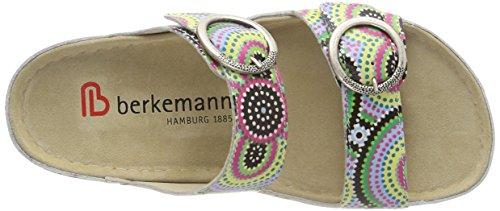 Berkemann Dames Senja Mules Meer Kleur (multicolor / Aboriginal)