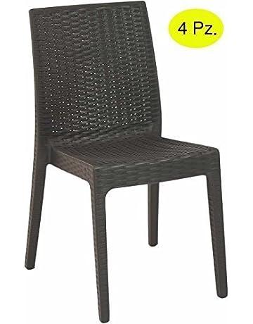 Sedie Giardino Ferro Offerte.Sedie Per Tavolo Da Giardino Giardino E Giardinaggio Amazon It